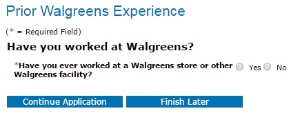 walgreens-past-employment-experience