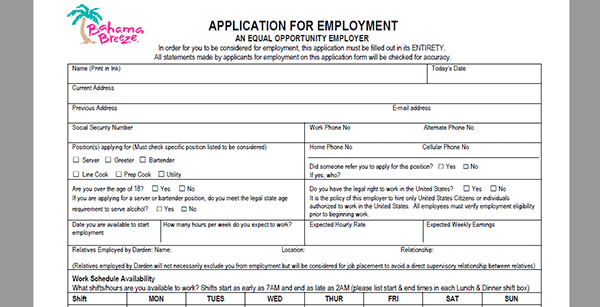 bahama-bucks-app Job Application Form Fill Out And Print on big lots, huddle house, little caesars, sally beauty supply,