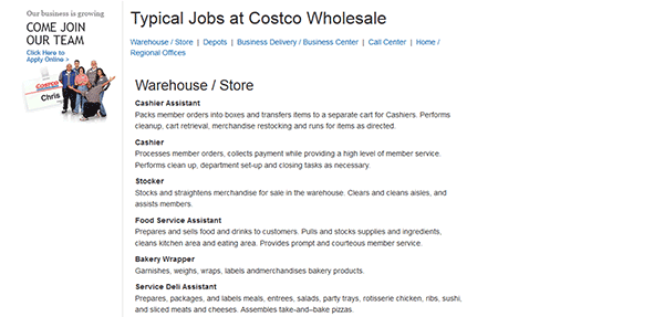 Costco Job Application Apply Online