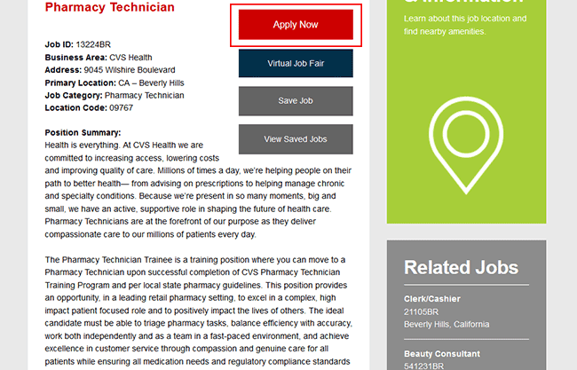 cvs web 3 cvs pharmacy job description - Cvs Pharmacy Technician Job