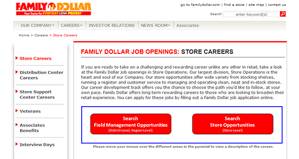 This is a picture of Family Dollar Printable Application with supermarket