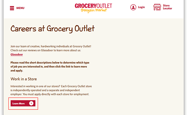 Grocery Outlet Job Application Apply Online