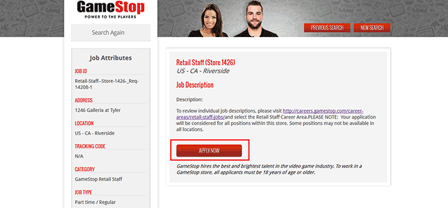 GameStop Job Application - Adobe PDF - Apply Online