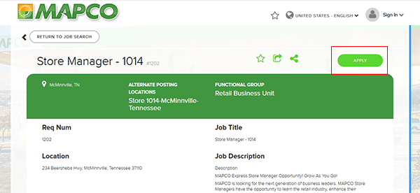 Mapco Job Application Apply Online