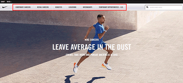 Nike Job Application - Apply Online