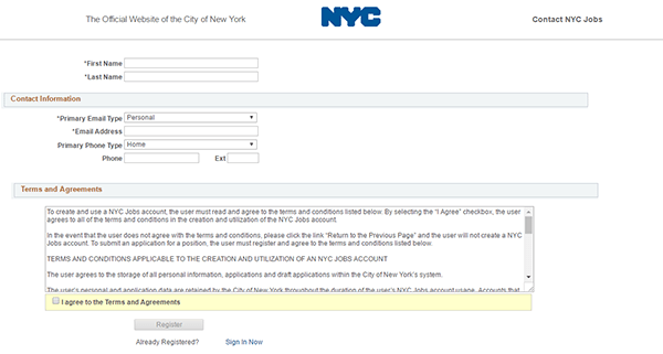 NYCHA Job Application - Apply Online