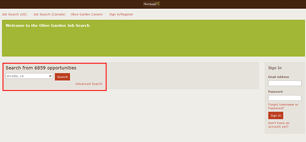 Olive Garden Job Application - Adobe PDF - Apply Online