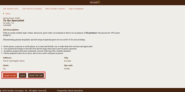 Olive Garden Job Application Adobe Pdf Apply Online