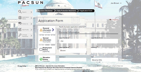 pacsun-web-9 Online Job Application Form For Kfc on pizza hut, print out, olive garden, apply target, taco bell,