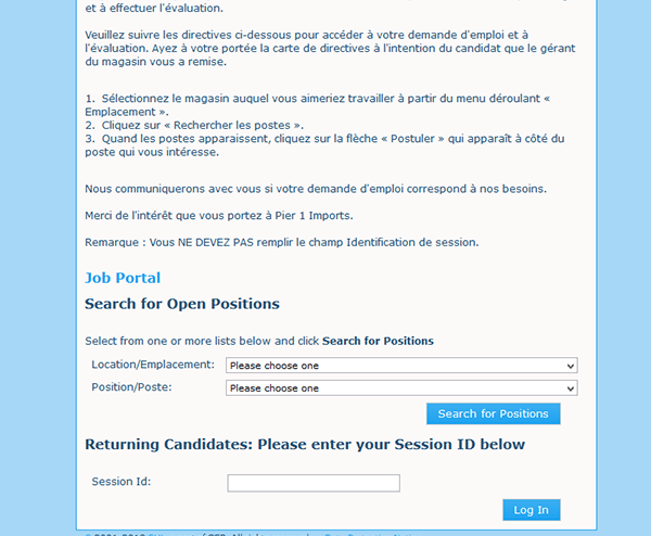 pier 1 imports careers. Step 4 \u2013 Press The \u201cView Description\u201d Button Of Position That You Want To Submit An Application For, And Then As Outlined Below Go Pier 1 Imports Careers