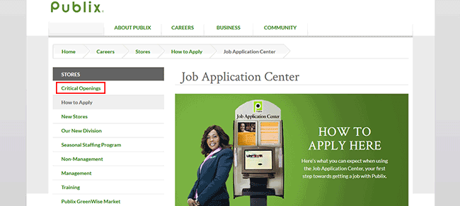 publix job application - adobe pdf