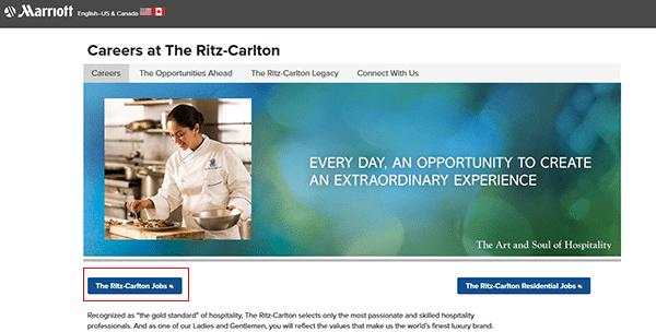 Ritz-Carlton Job Application - Apply Online