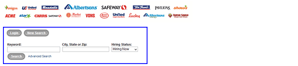 safeway-web-3 Job Application Form Safeway on free generic, part time, blank generic,