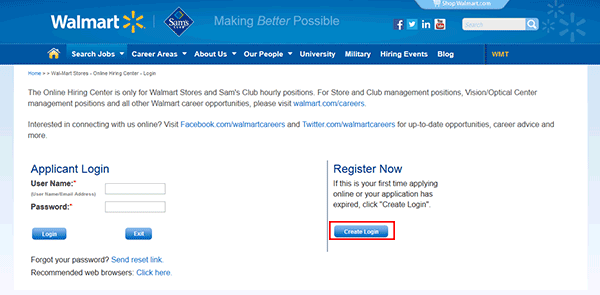 Sams Club Web 4  Walmart Careers