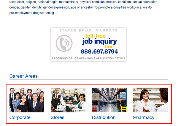 Stater Bros Job Application Apply Online