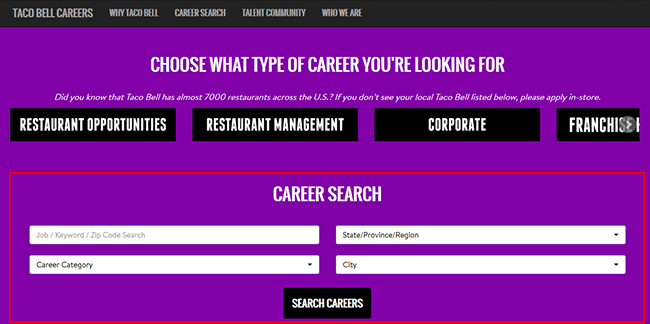 Taco Bell Job Application Adobe Pdf Apply Online