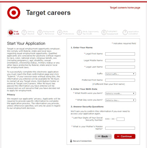 TargetJobApplication  JobapplicationsNet