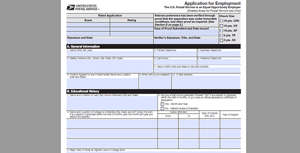 usps-job-app Job Application Form Dollar General on form for, poth texas, complete print out, print out pdf, store careers, store print, print sheets,